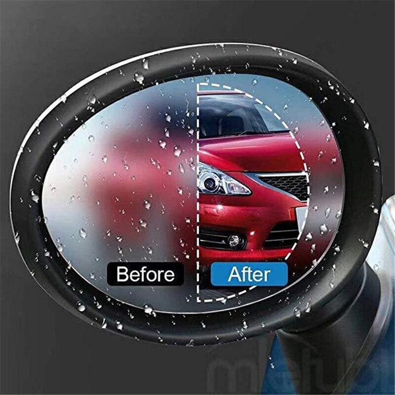WATERPROOF ANTI-FOG SIDE MIRROR FILM