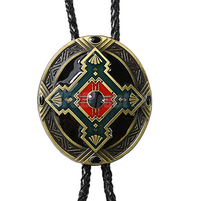 Western Bolo Tie Bolas Necktie Cowboy Necklace Gentleman Ornaments Rodeo
