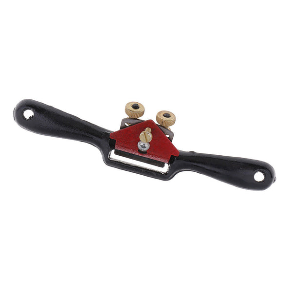 Adjustable SpokeShave with Flat Base Metal Blade for Wood Craft Hand Tools