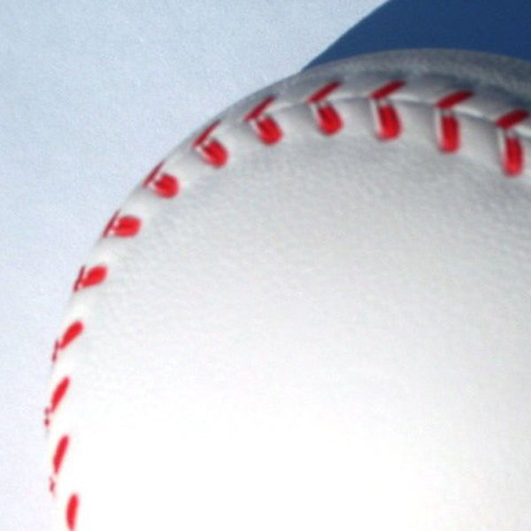 White Foam Baseball Stress Relief Squeezable Balls Party Favors HY
