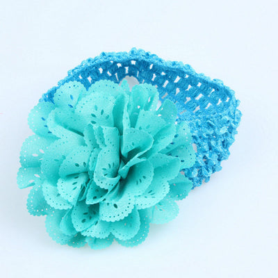 10pcs/SetToddler Kids Baby Lace Flower Headband Hair Band Headwear Accessories