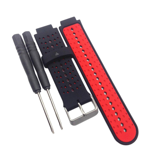2 X Wristband Replacement Strap Buckle for Garmin Forerunner 220 230 235 620