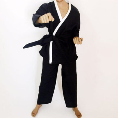 1/6 Black Male Judogi Judo Suit Uniform Men Clothes for 12'' Soldier Figures