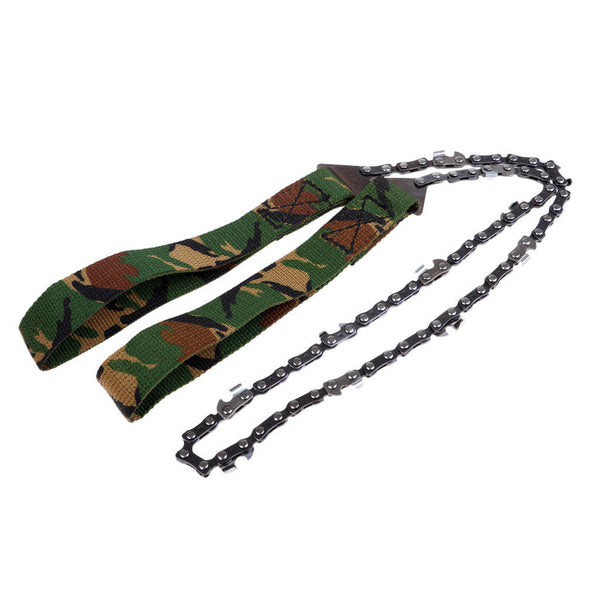 Emergency Pocket Wire Saw Hand Chain Saw Outdoor Bushcraft Survival Camo