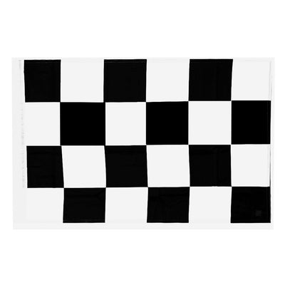 MagiDeal Black and White Checkered Racing Flag 60x90cm Motorsport Banner