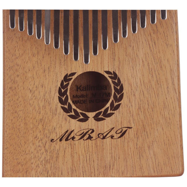 Mahogany 17 Keys Kalimba Thumb Piano Musical Instrument Parts for Kids Gift