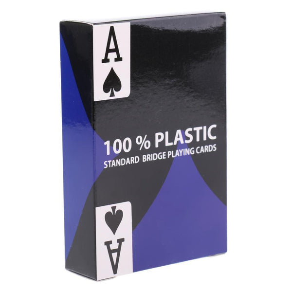 1 Set Plastic Poker Card Waterproof Playing Cards Board Game Casino Supplies