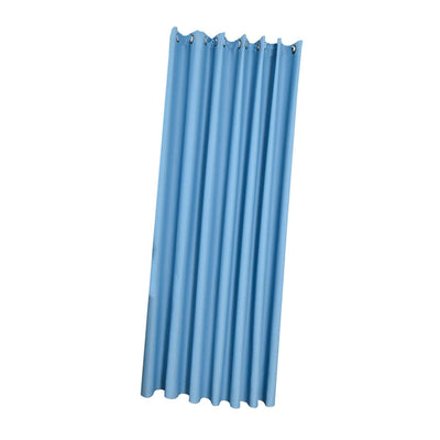 Blackout Curtains for Bedroom - Window Treatment Solid Drape Blue 140x245cm