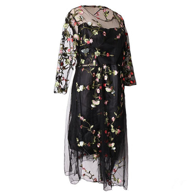 Pregnant Women Photo Dress Maternity Gown Half Sleeve Embroider Dress Props