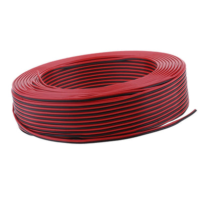 Premium Car Home Outdoor Power&Speaker Wire 0.3mm² PVC Cable Tools 100Meter