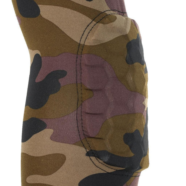 New Honeycomb Pad Crashproof Basketball Arm Sleeve Elbow Support Pad Camo XL