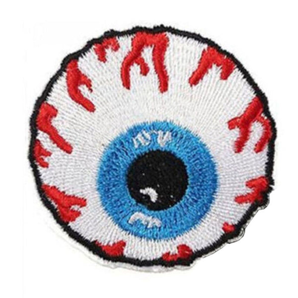 Crafts New 1 Pc Eyeball Embroidered Iron On Applique Motif Patch W1F8 W7Y2 T3E0