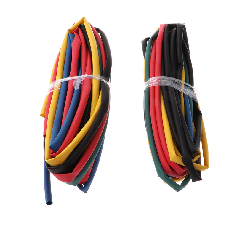 42m Heat Shrink Tubing Tube Assortment Wire Cable Insulation Sleeving Kit