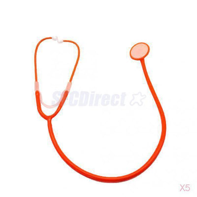 5x 7Pcs Pretend Play Toys Doctor Stethoscope Medical Doctor Equipment Kids Toys