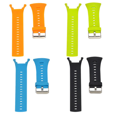 4Pack Silicone Watch Band Strap Replacement for Suunto Ambit 3 2 1 Watch
