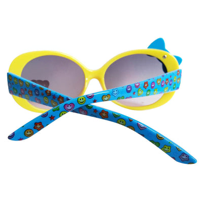 2Pcs Cute Kids Boys Girls Children Round UV400 Sunglasses Goggles Fashion