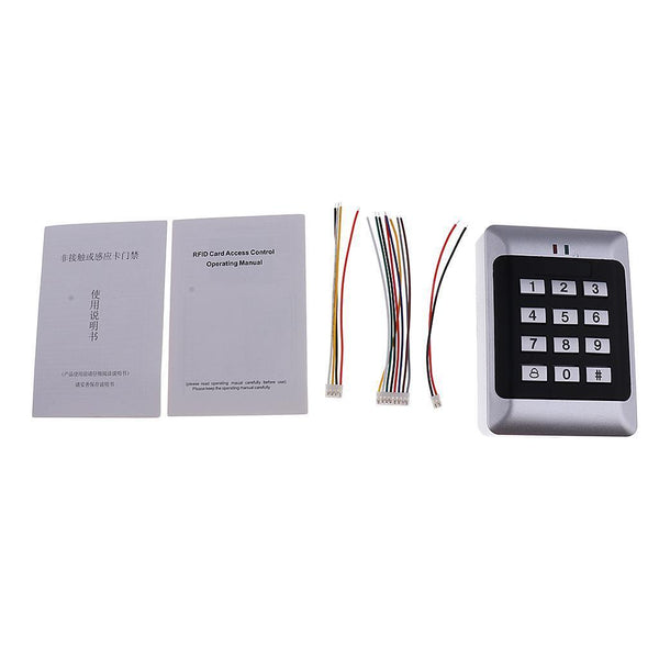 125Khz 12V Home Security Door Access Controller Card Reader With Keypad