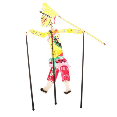 Chinese Traditional Folk Art Operatable Shadow Play Puppet Show -Monkey Sun