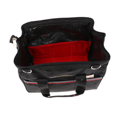 12 Inch 2-Layer Tool Bag Large Bearing Capacity Comfortable Strap