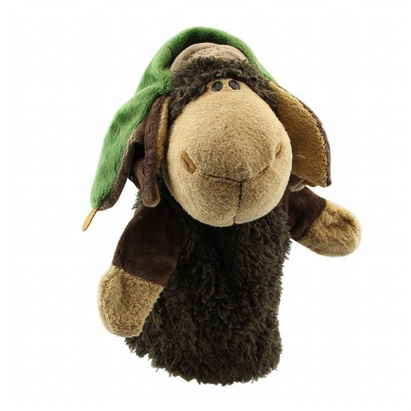 Cute Plush Velour Animals Hand Puppets Chic Designs Kid Child Learning Aid J2J3