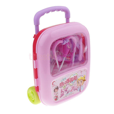 MagiDeal Children Educational Toys Kids Doctor Toys Simulation Doctor Set