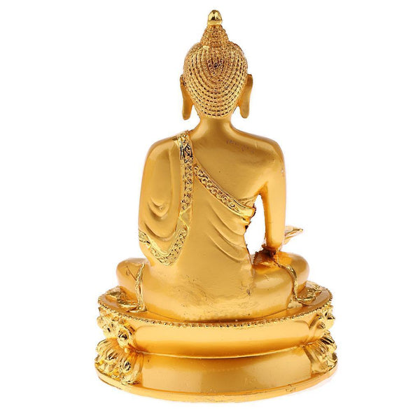 Alloy Gilding Buddhism Bhaisajyaguru Statue for Protection Blessing Accs