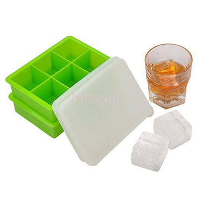 Ice Cube Tray Cubes Trays Silicone Ice Mold Kitchen Tool Silicone Molds #4