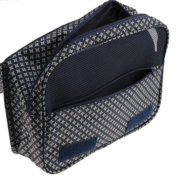 New Wash Bag Hanging Large Travel Toiletry Shave Kit Storage Organizer - Dot