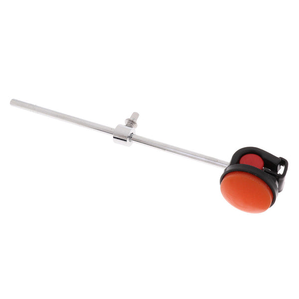 1 Pc Bass Drum Beater Hammer Silicone Head for Percussion Instrument Orange