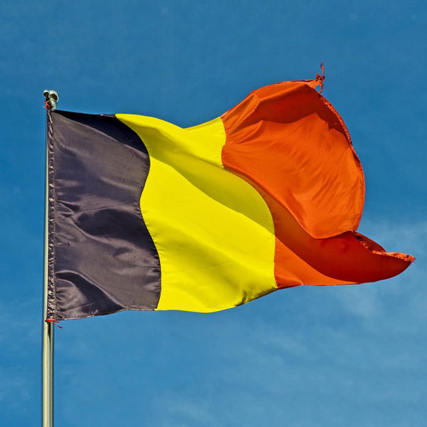 National Flag 5FT X 3FT Sports Competition Countryn Flags Belgium & Spain