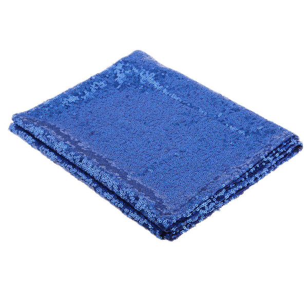 12in X 108in Sequin Table Runners -- Royal Blue