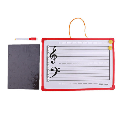 1x Music Notation Whiteboard Dry Erase Board for Meeting School Teaching
