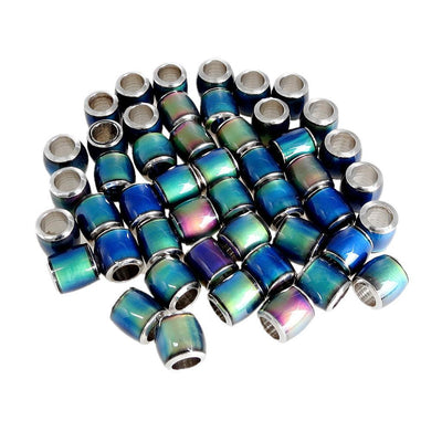 Fashion Wholesale Color Changing Loose Beads Lucky Pendant DIY Jewelry 50Pcs