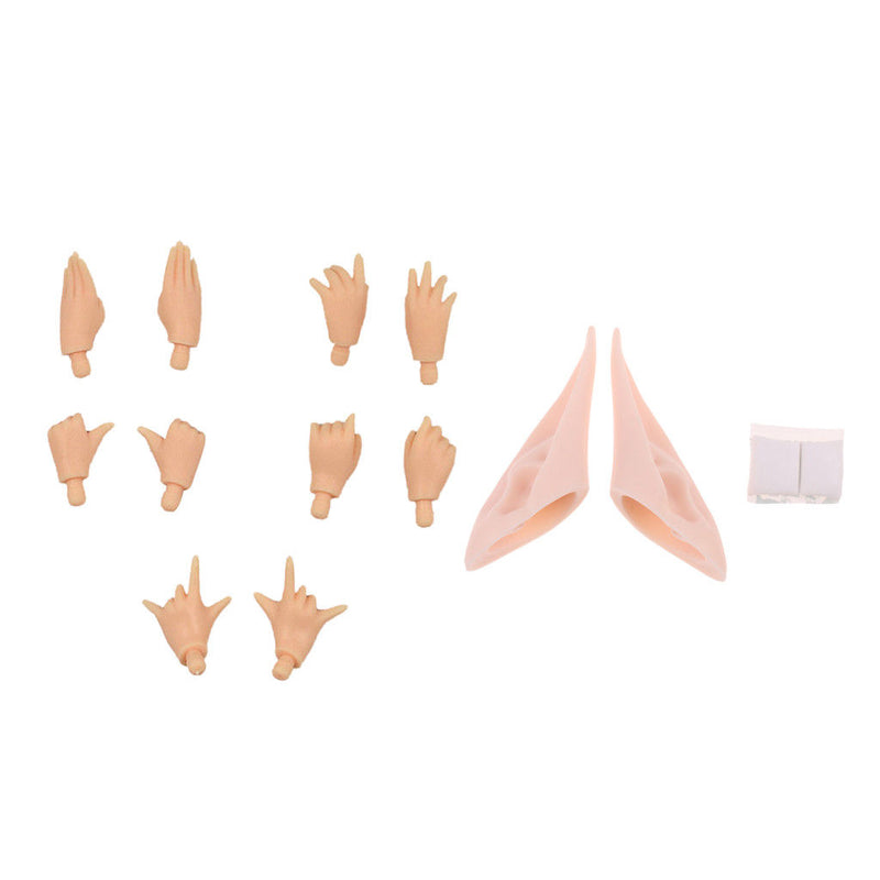 4 Patterns Doll Nude Resin Ears for 12inch Takara Neo Blythe Pullip DIY Making