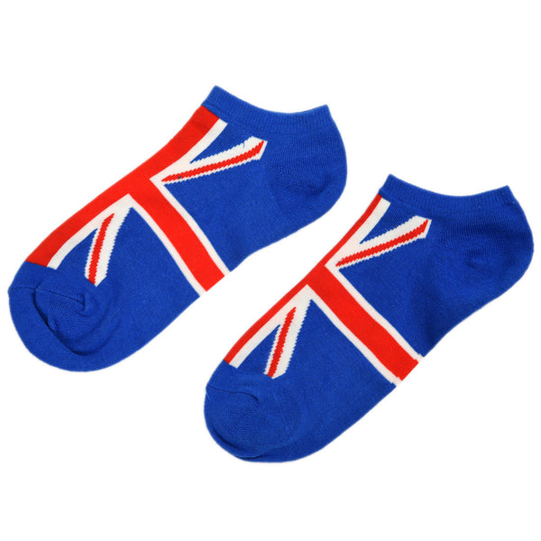Pair of Fashion Character British Flag Pattern Socks For Men G8I7