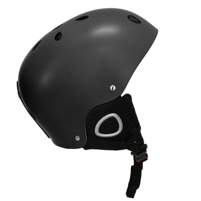 Outdoor Snow Sports Helmet Ski Snowboard Skate Helmet 52-60cm Black