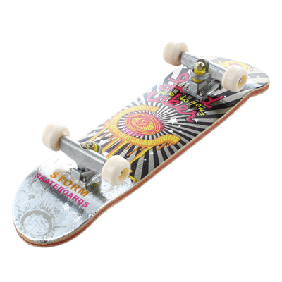 HT00640 Wooden Finger Skate Board + Screwdriver Random Pattern V3T2