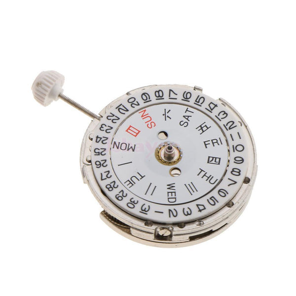 Mechanical Automatic Movement Date Day Week Display For Miyota 8205