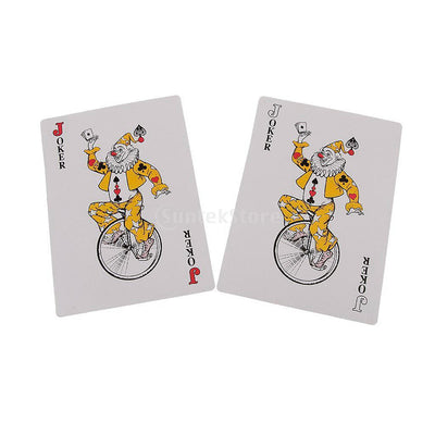 Deck of Giant Jumbo Playing Cards Poker Outdoor Garden Party BBQ Game 13cm