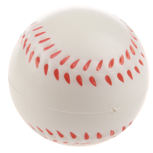 White Baseball Stress Ball O3S8