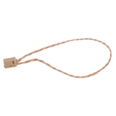 100 Packs , Hang Tag Jute String Snap Lock Pin Loop Fastener Hook Tie