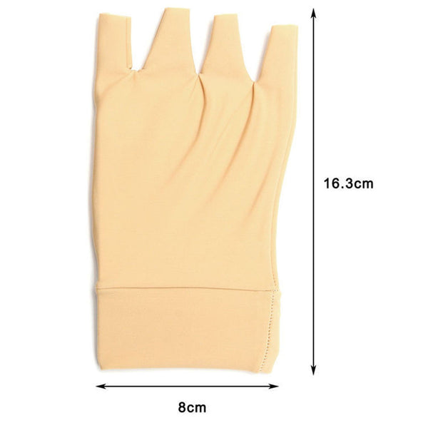 1 Pair Arthritis Relief Gloves Washable Nylon Spandex Anti Hand Compression 7NX