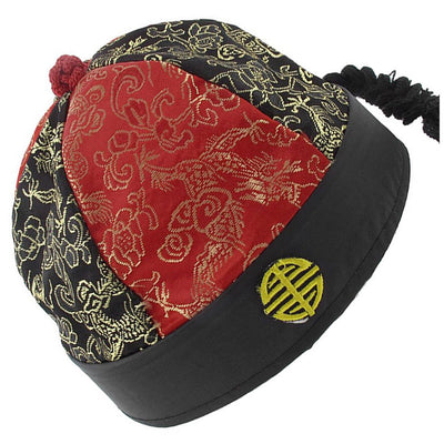 Stage Performance Prince Cap - Red Black B3R6 K4U7 H2U7