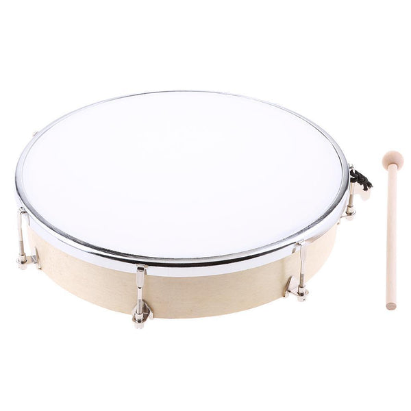 Wooden Baby Tunable Hand Drum Toys Musical Hand Instrument Developing 11inch