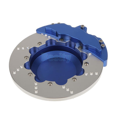 Desktop Smoking Ash Tray for Home office Decoration Brake-discs Type Blue