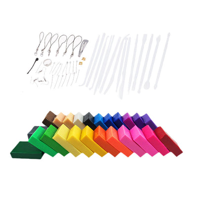 24 Colors Soft Modelling Clay Tools Modeling Materials for Children's Crafts
