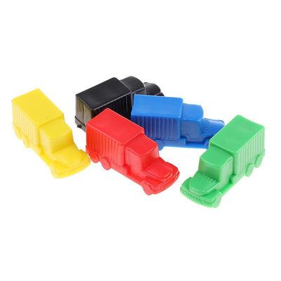 Mini Plastic Pull Back Car Models Race Car for Children Boys Gift Set of 5