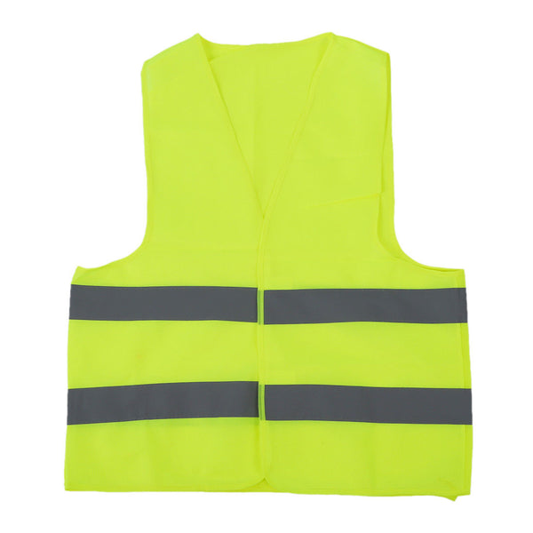 Safety vest Reflecting Strips Yellow Fluorescent High Visibility Z6T9
