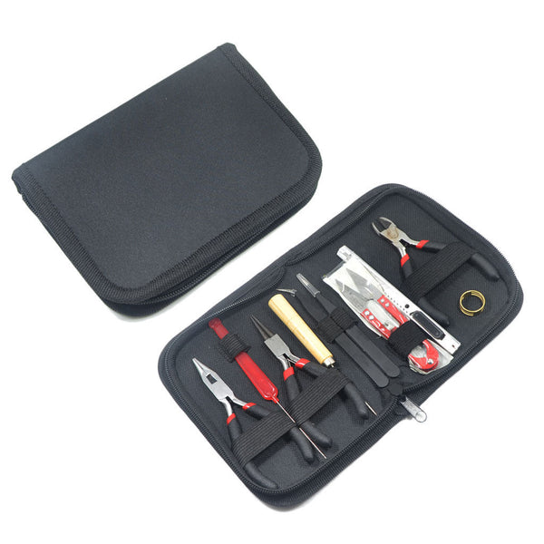 11x Jewelry Making Tool Kit Beading Hand Tools for Hobbies Crafts with Case