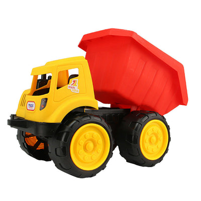 2 Pieces Beach Construction Vehicle Toys Push Around Sand Truck Kids Gift
